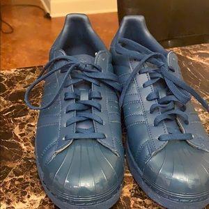 Blue Addias Shoes